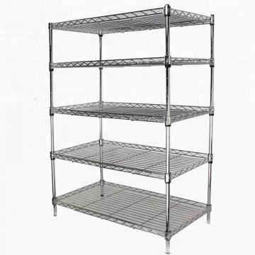 SMT Component Reel Steel Shelving Unit Adjustable Slanted Wire Shelf