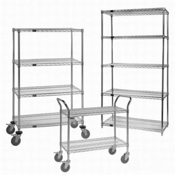 Popular in Industry & Factory Wholesale Adjustable Wire Shelving