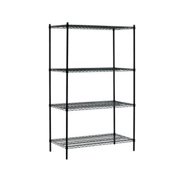 6 Tiers Epoxy Coated Commercial Wire Shelving